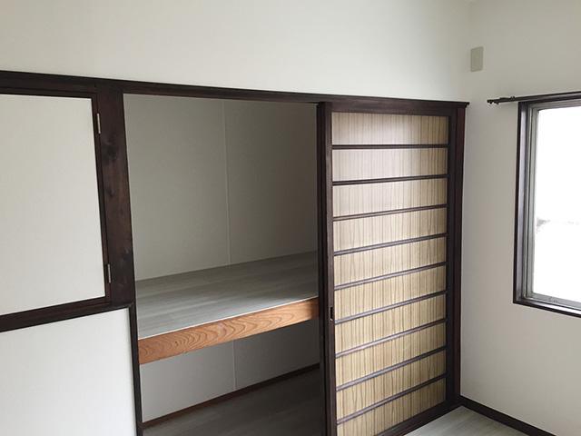中古物件を買って貸家用にリフォーム。使えるものは残して新しい空間に。